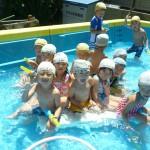 水遊び保育♫元気いっぱいに遊んでいるよ!!